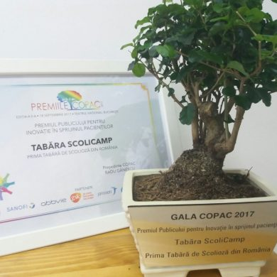 Recunoaștere națională pentru prima Tabără de Scolioză din România