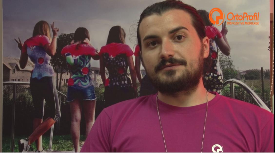 Interviu George Ruță- Kinetoterapeut