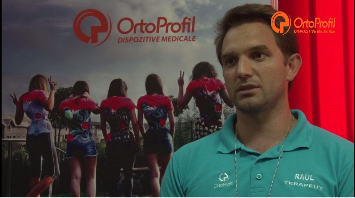 Interviu  Raul Trif – Fizioterapeut OrtoProfil