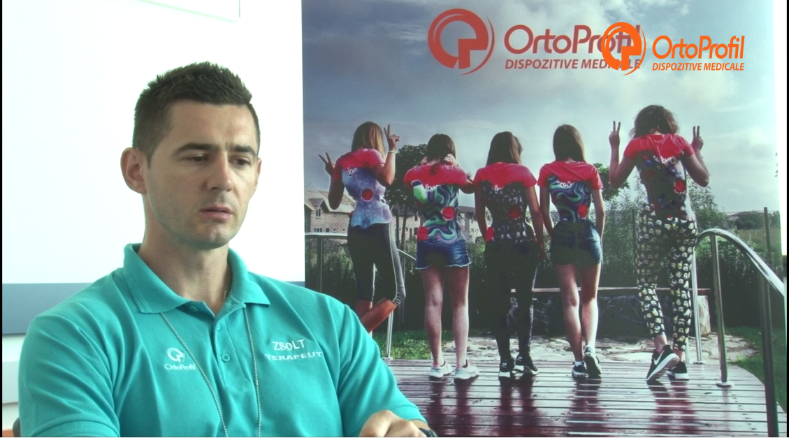Interviu Zsolt Szilágyi- Fizioterapeut OrtoProfil