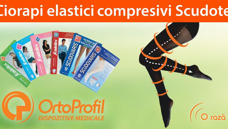 Ciorapii compresivi ScudoTex-soluția optimă pentru prevenirea și tratarea insuficienței venoase